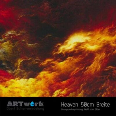 ARTwork, Wassertransferdruck, Folie Heaven, 50cm Breite