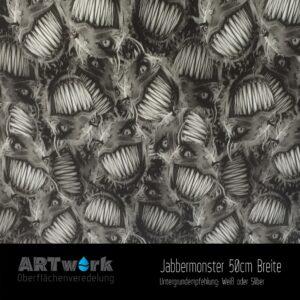 ARTwork, Wassertransferdruck, Folie Jabbermonster, 50cm Breite