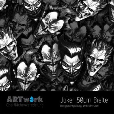 ARTwork, Wassertransferdruck, Folie Joker, 50cm Breite