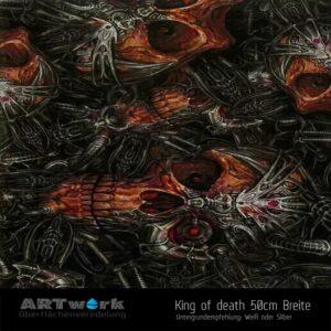 ARTwork, Wassertransferdruck, Folie King of the death, 50cm Breite