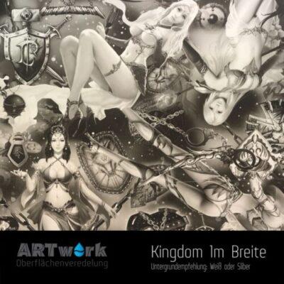 ARTwork, Wassertransferdruck, Folie Kingdom, 1m Breite