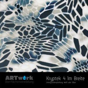 ARTwork, Wassertransferdruck, Kategorie Camouflage, Folie Kryptek 4, 1m Breite