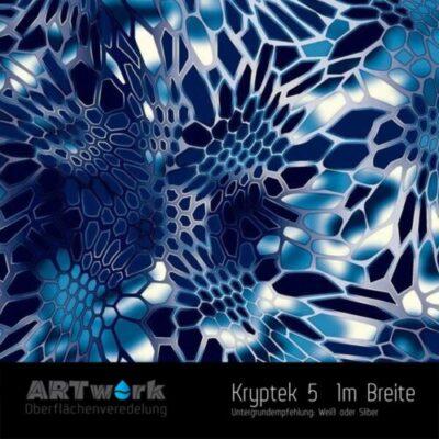 ARTwork, Wassertransferdruck, Kategorie Camouflage, Folie Kryptek 5, 1m Breite