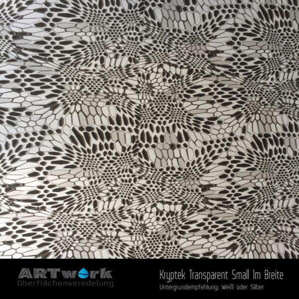 ARTwork, Wassertransferdruck, Kategorie Camouflage, Folie Kryptek Transparent Small, 1m Breite