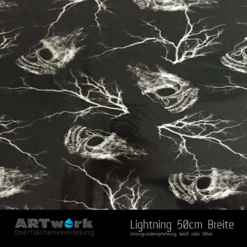 ARTwork, Wassertransferdruck, Folie Lightning, 50cm Breite