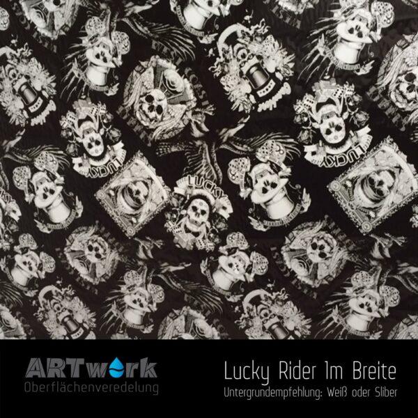 ARTwork, Wassertransferdruck, Folie Lucky Rider, 1m Breite