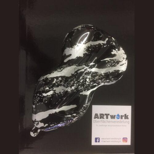ARTwork, Wassertransferdruck, Folie Marble Camo, 1m Breite