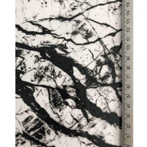 ARTwork, Wassertransferdruck, Folie Mamor Black, 80cm Breite