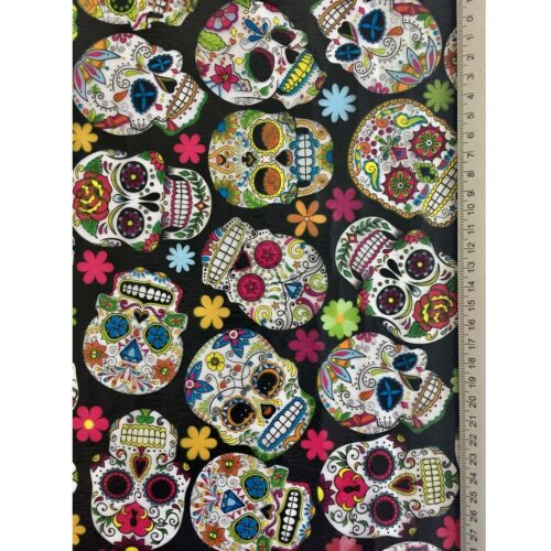 ARTwork, Wassertransferdruck, Folie Mexican Skull 2, 1m Breite