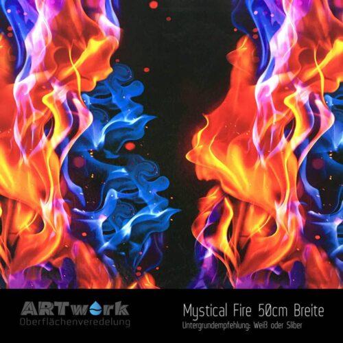 ARTwork, Wassertransferdruck, Folie Mysticals Fire, 50cm Breite