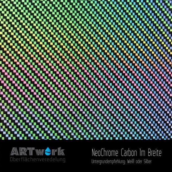 ARTwork, Wassertransferdruck, Folie NeoChrome Carbon, 1m Breite