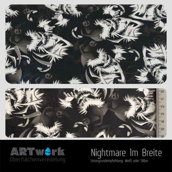 ARTwork, Wassertransferdruck, Folie Nightmare, 1m Breite
