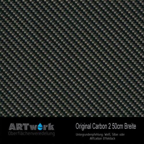 ARTwork, Wassertransferdruck, Folie Original Carbon 2, 50cm Breite
