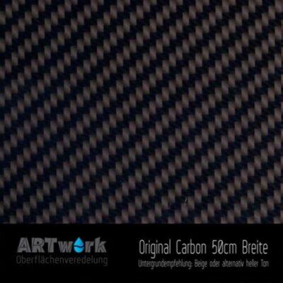 ARTwork, Wassertransferdruck, Folie Original Carbon, 50cm Breite