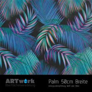 ARTwork, Wassertransferdruck, Folie Palmenblätter, 50cm Breite