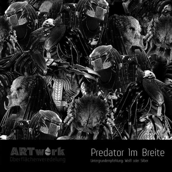 ARTwork, Wassertransferdruck, Folie Predator, 1m Breite