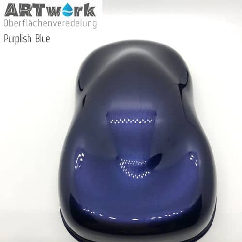 Effektlacke Purplish Blue 1 Liter Artwork