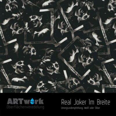 ARTwork, Wassertransferdruck, Folie Real Joker, 1m Breite