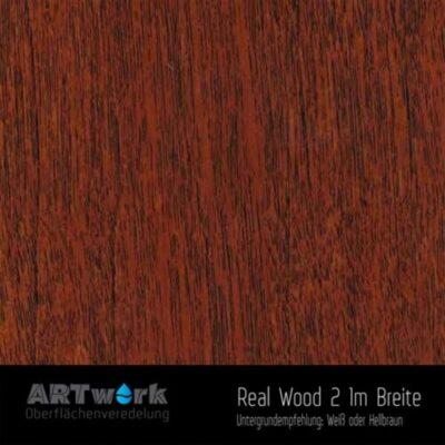ARTwork, Wassertransferdruck, Folie Real Wood 2, 1m Breite