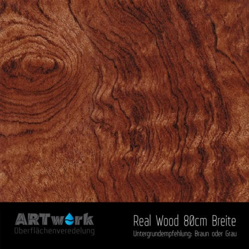 ARTwork, Wassertransferdruck, Folie Real Wood 8, 80cm Breite