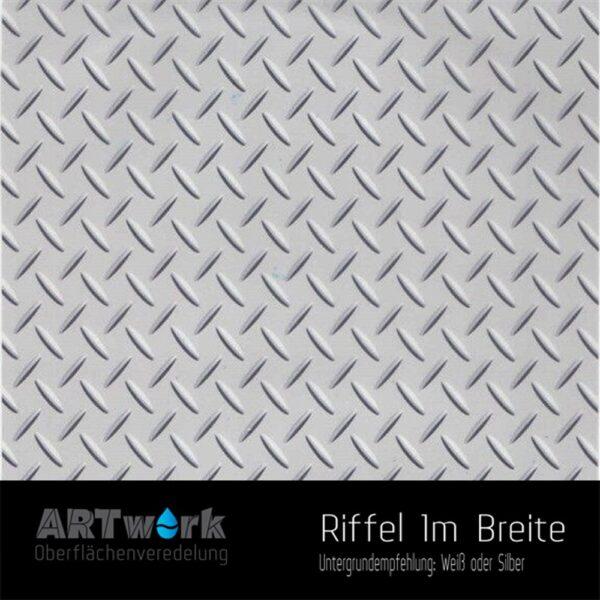ARTwork, Wassertransferdruck, Folie Riffel, 1m Breite