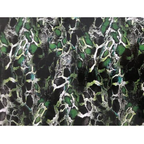 ARTwork, Wassertransferdruck, Folie Snake Green, 1m Breite