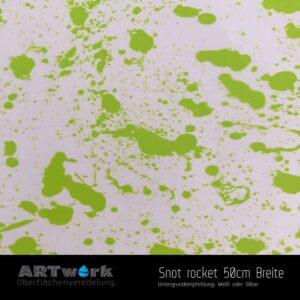 ARTwork, Wassertransferdruck, Folie Snot Rocket, 50cm Breite