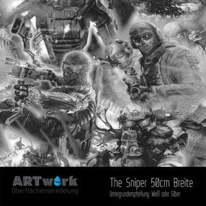ARTwork, Wassertransferdruck, Folie Sniper, 50cm Breite