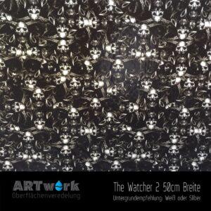 ARTwork, Wassertransferdruck, Folie The Watcher 2, 50cm Breite