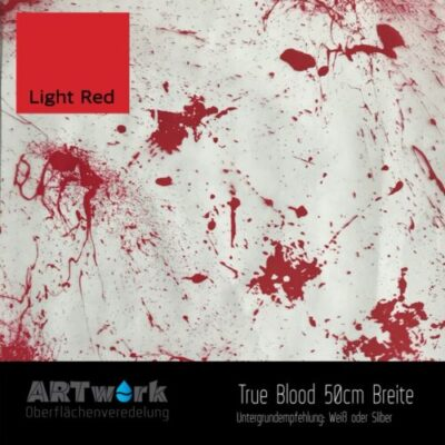 ARTwork, Wassertransferdruck, Folie True Blood, 50cm Breite