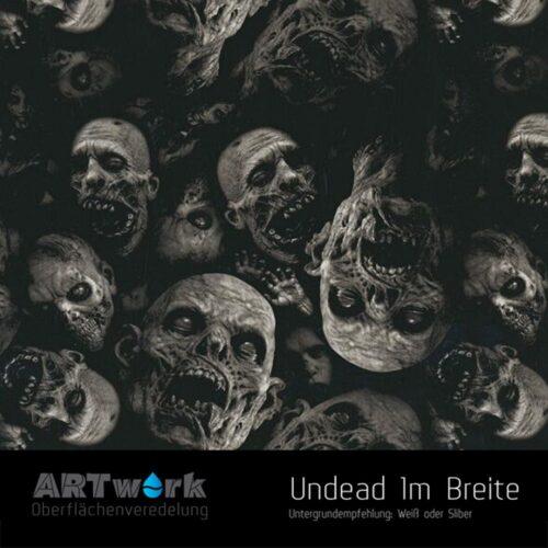 ARTwork, Wassertransferdruck, Folie Undead, 1m Breite