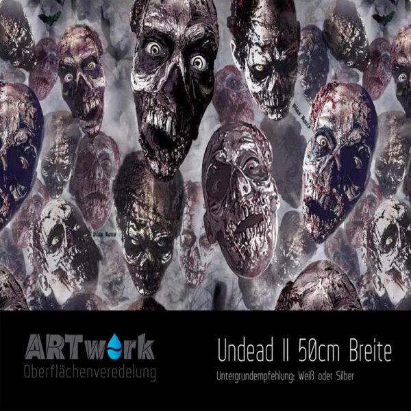 ARTwork, Wassertransferdruck, Folie Undead II, 50cm Breite