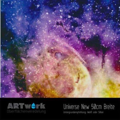 ARTwork, Wassertransferdruck, Folie Universe New, 50cm Breite