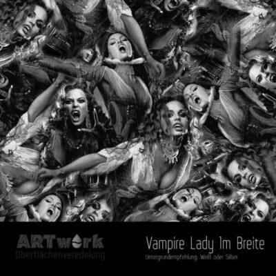 ARTwork, Wassertransferdruck, Folie Vampire Lady, 1m Breite
