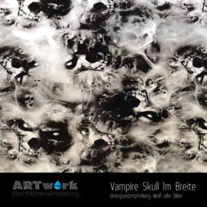 ARTwork, Wassertransferdruck, Folie Vampire Skull, 1m Breite