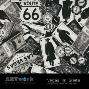 ARTwork, Wassertransferdruck, Folie Vegas, 1m Breite