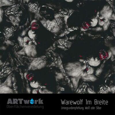 ARTwork, Wassertransferdruck, Folie Warewolf, 1m Breite