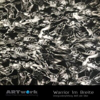 ARTwork, Wassertransferdruck, Folie Warrior, 1m Breite