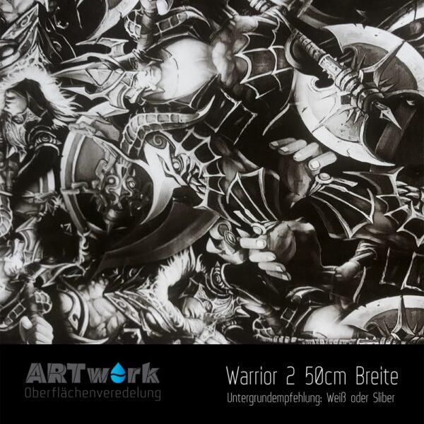 ARTwork, Wassertransferdruck, Folie Warrior 2, 50cm Breite