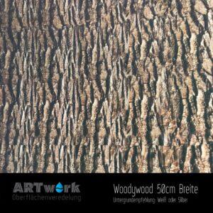 ARTwork, Wassertransferdruck, Folie Woodywood, 50cm Breite
