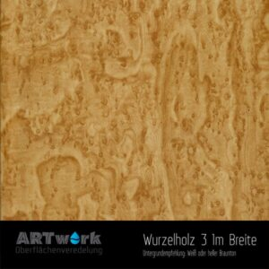 ARTwork, Wassertransferdruck, Folie Wurzelholz 3, 1m Breite