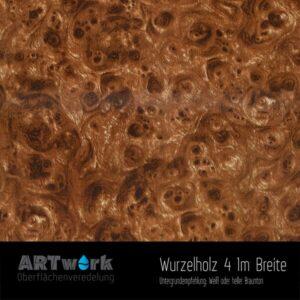 ARTwork, Wassertransferdruck, Folie Wurzelholz 4, 1m Breite