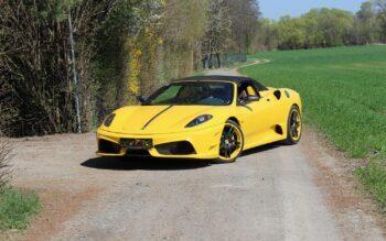 Ferrari, Wassertransferdruck Folie Auto